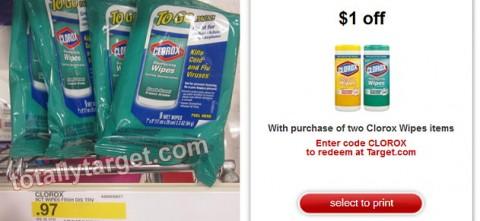 free clorox wipes at target