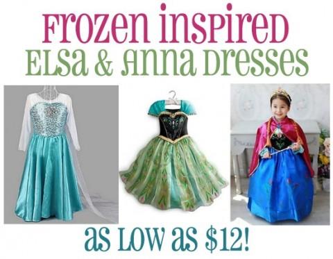 site frozen princess dresses