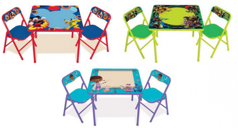 Walmart Cyber Monday Deal: Character Erasable Table & Chair Sets ...
