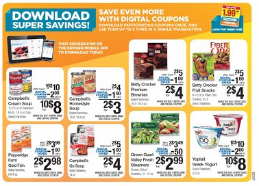 Kroger: Digital Coupon Sale - MyLitter - One Deal At A Time