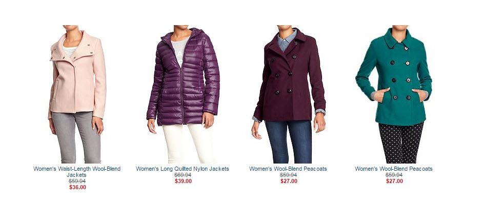 old navy coats