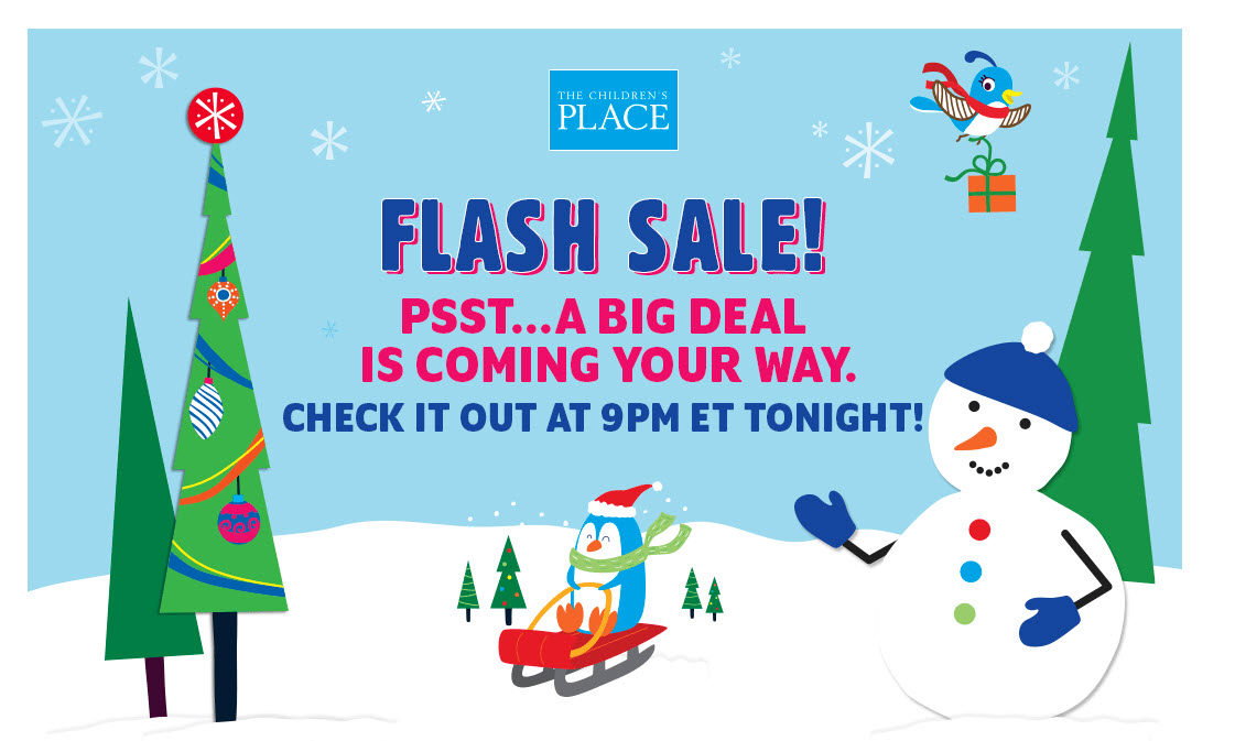 the childrens place flash sale