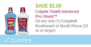 colgate mouthwash coupon