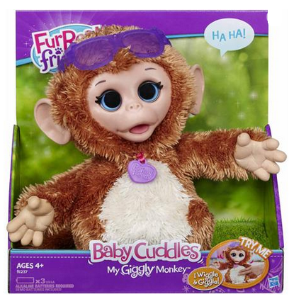Furreal Friends Baby Cuddles Monkey Pet Only 12 Was 24 96