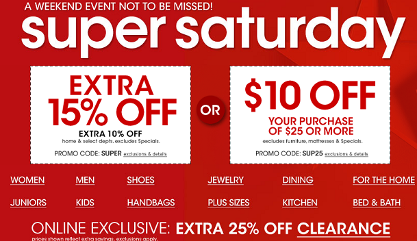 25 Macy's Store Coupon for Saturday {Valid Online and In-store ...