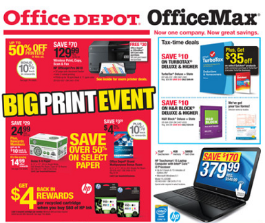 Rare 10 30 office max or office depot purchase in store or online - Office depot discount code ...