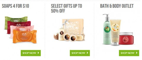 the body shop free shipping sale