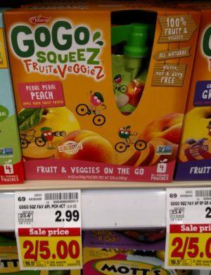GoGo Fruit & Veggies ML