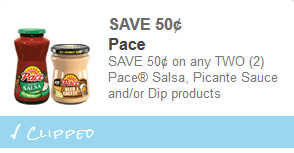 pace coupon