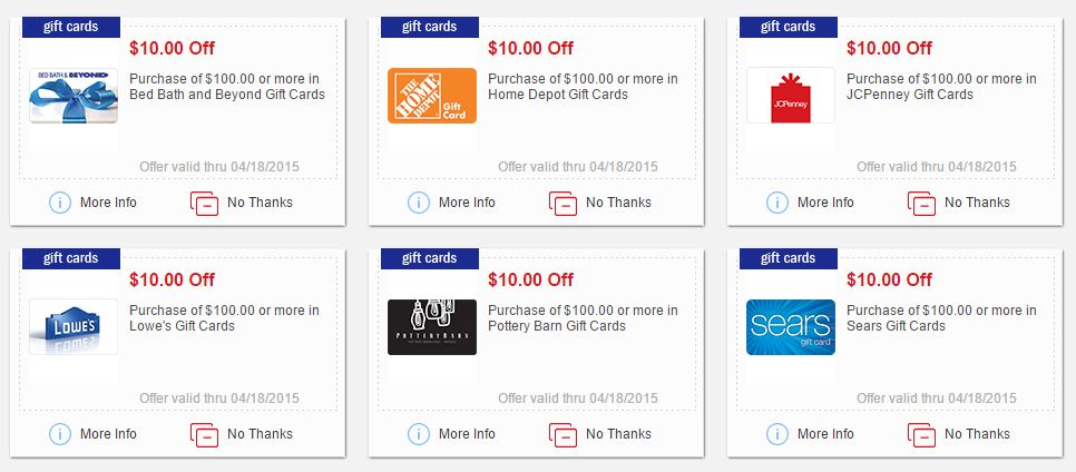 Meijer: $10 off $100 Gift Cards to Select Stores! - MyLitter - One ...