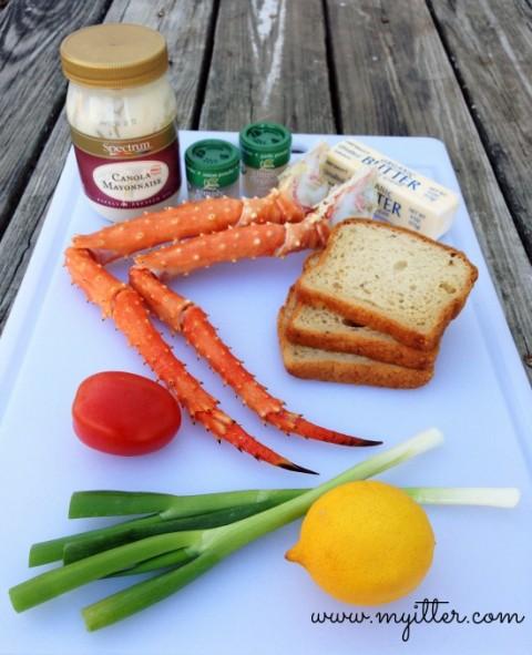 Crab Rolls & Sliders Ingredients