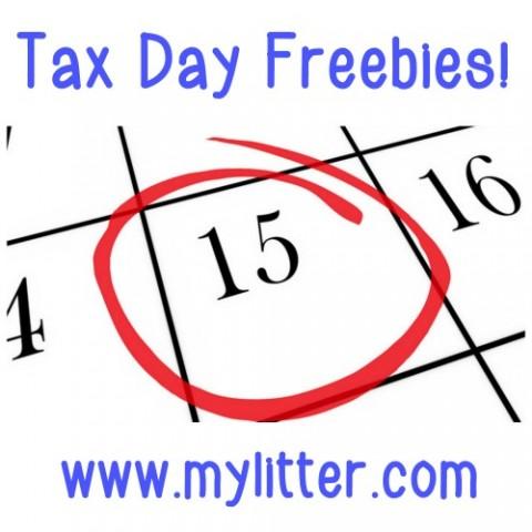 Tax Day Freebies