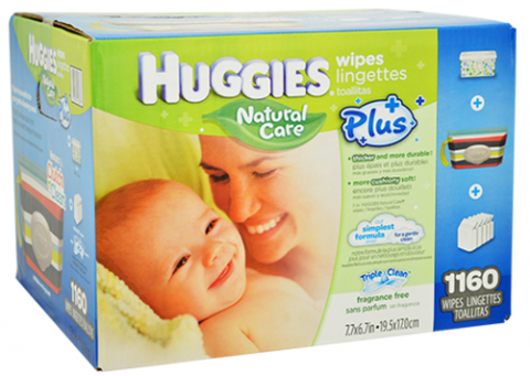 huggies natural wipes