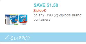 ziploc container coupon