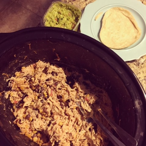 Chicken Fiesta Crockpot