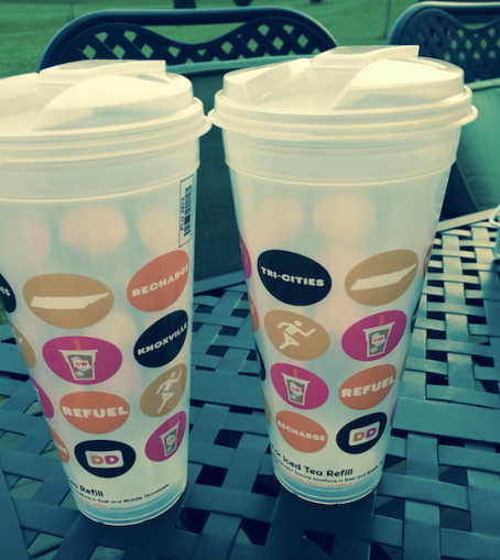 Free dunkin donuts cup coupon
