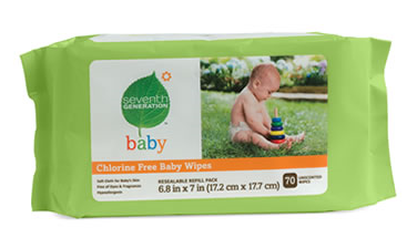 seventh generation baby wipes target