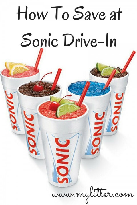 How To Save at Sonic Drive-In My Litter