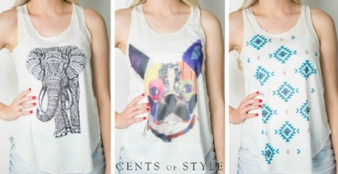 cents of style tank tops