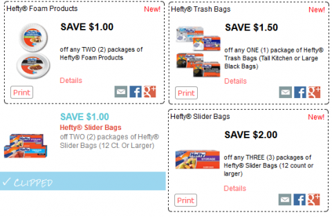picture about Hefty Printable Coupons called Kroger Mega Function: Fresh Weighty Substance Coupon codes + Matchups