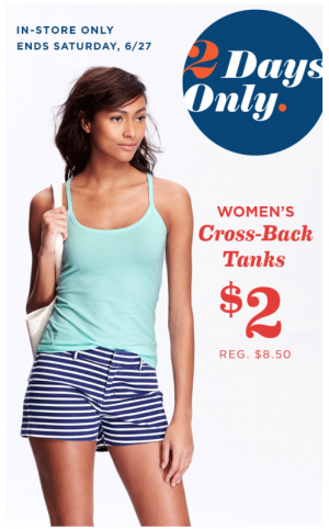 0dc3e75380ab2f Old Navy  Tank Tops  2 (Today and Tomorrow) - MyLitter - One Deal At ...