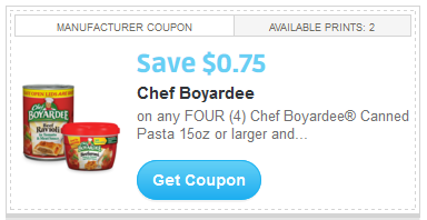 Chef Boyardee is a small canned food & soup retailer which operates the website skillfulnep.tk of today, we have no active coupons. The Dealspotr community last updated this page on July 29, Chef Boyardee has an average discount of 25% off and an average time to expiration of 30 days.
