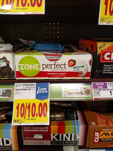 zone perfect bars only  0 50 each at kroger