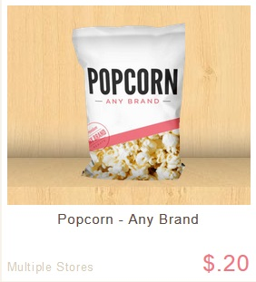 popcorn ibotta