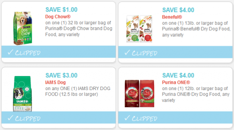 dog food coupons