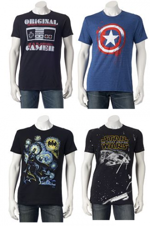 f4384b69 Right now you can stock upon Graphic Tees for just $6.38 each after coupon  codes and sale at Kohl's. Now these shirts are under the Men's Category BUT  you ...