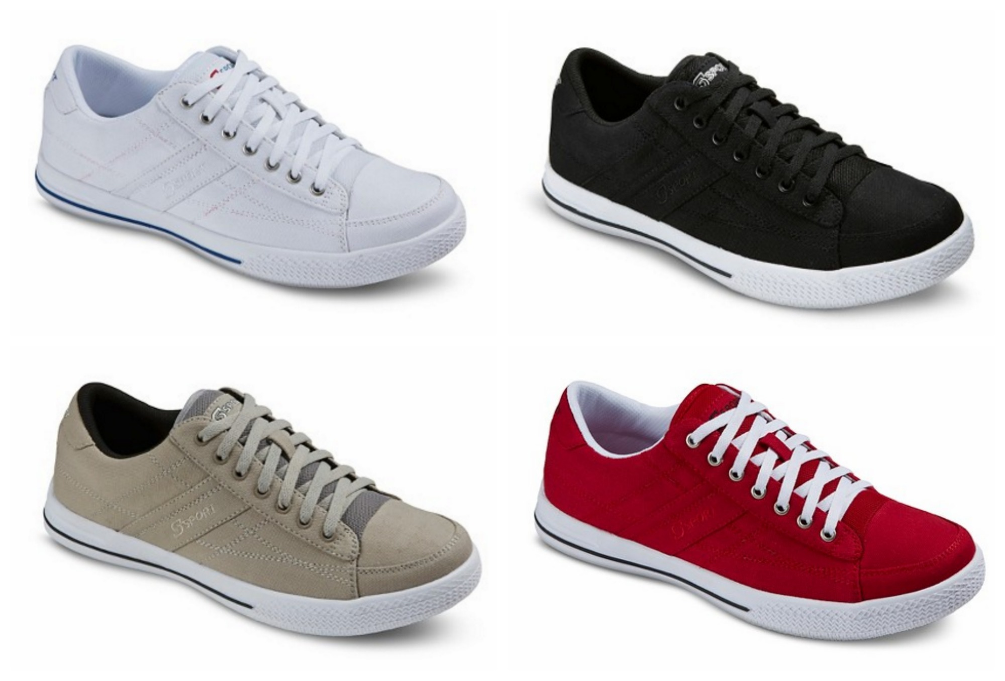 5fbb88d53865 Men s Canvas Skechers Shoes Just  13.98 Shipped  65% Off  - MyLitter ...