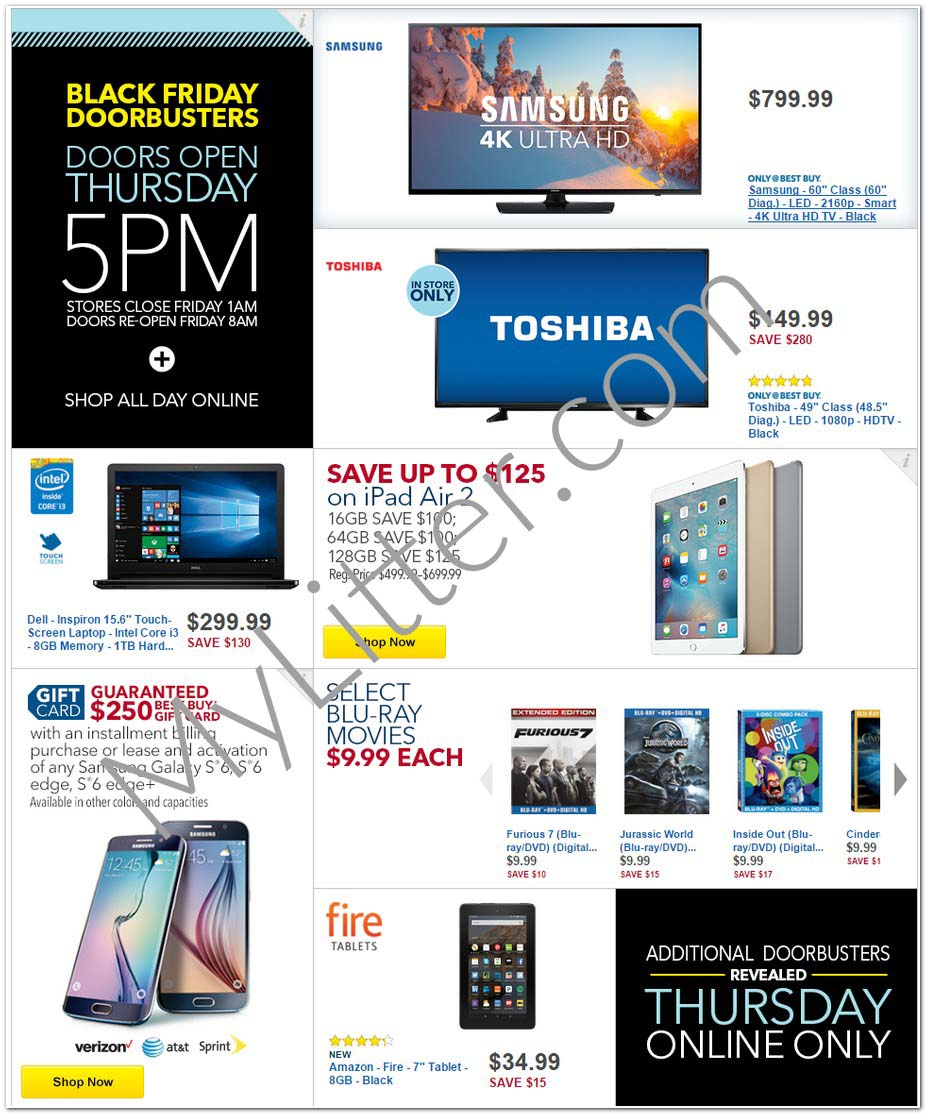 Best Buy Black Friday Ad is Available NOW!!!! - MyLitter - One Deal ...