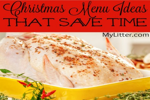 Christmas Menu Ideas That Save Time