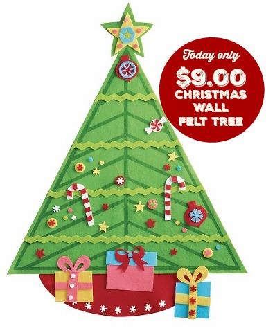 Awesome Felt Wall Christmas Tree