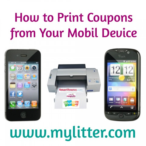 Print coupons from Mobil