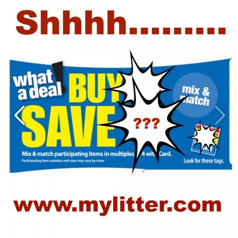 Shhhh buy 4 save $4