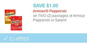 armour pep coupon