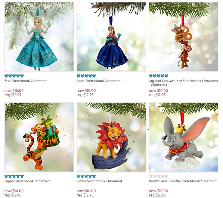 disney ornaments 2