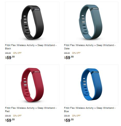Deals on fitbit flex