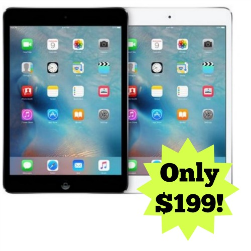 Walmart Cyber Monday Deal Back In Stock Apple Ipad Mini 2 Only 199
