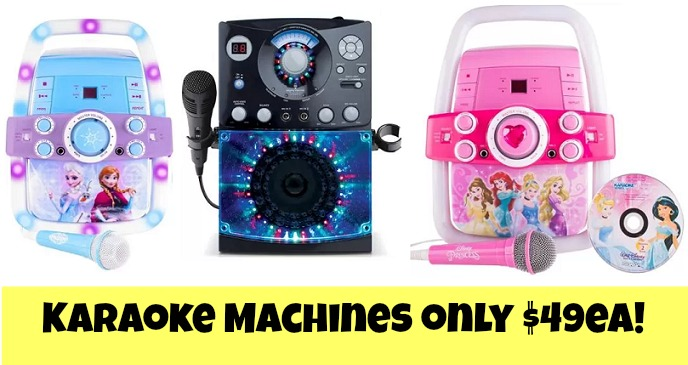 black friday karaoke machine