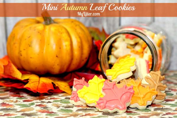 mini fall leaves