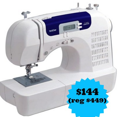 24cb332424b What a deal! If you or someone you know is in the market for a new sewing  machine have I found the deal for you. You can pick up the Brother ...