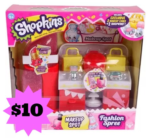 Shopkins Make-up Spot Playset only  10! - MyLitter - One Deal At A Time bc233412a3