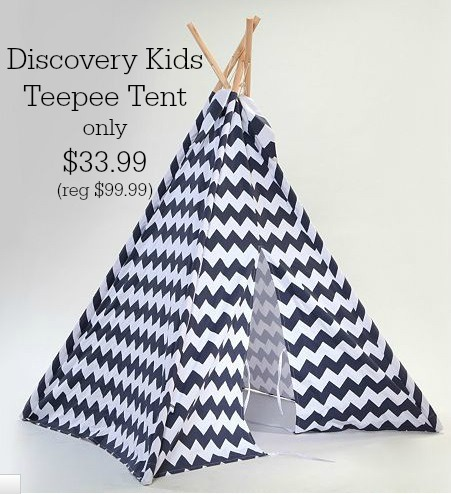 teepee tent deal. These Discovery Kids ...  sc 1 st  MyLitter & Kohlu0027s Black Friday Deal Now:Discovery Kids Teepee Tent only ...