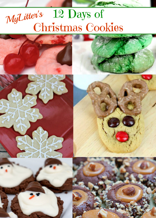 12 Days of Christmas Cookies series