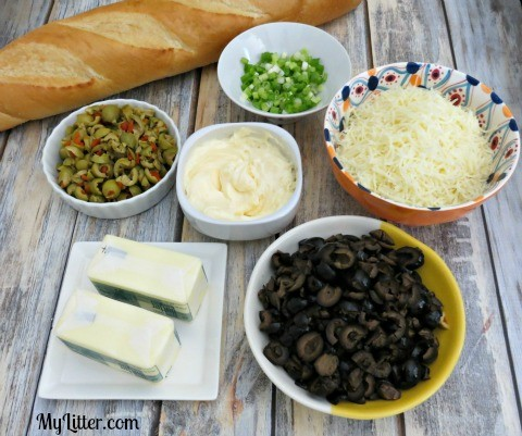 Olive Bread Ingredients