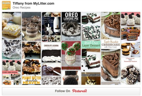 The best collection of Oreo Recipes on Pinterest!