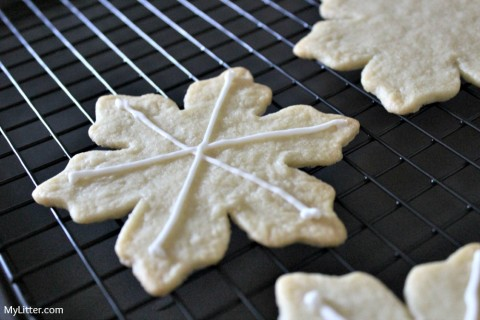 Christmas Snowflake Cookie Recipe