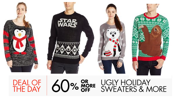 0bf740943f1 Amazon: Save up to 60% on Ugly Sweaters Today Only! - MyLitter - One ...